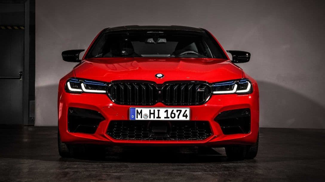 BMW M5 MY2021 front