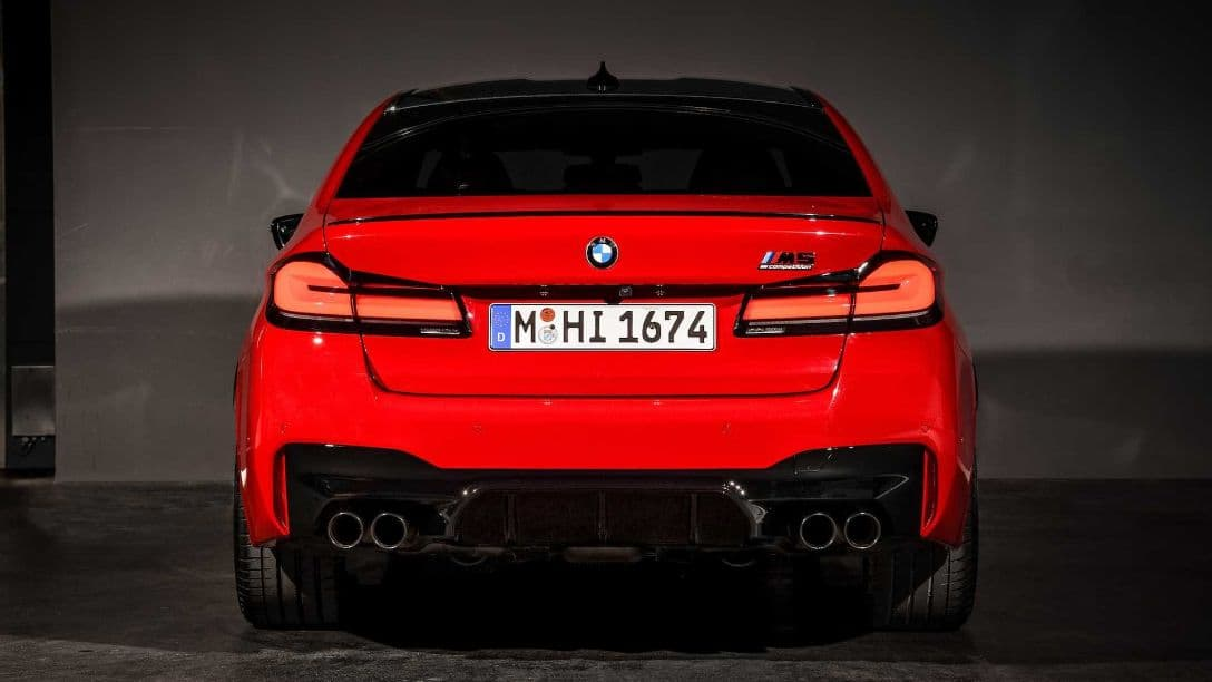 BMW M5 MY2021 rear
