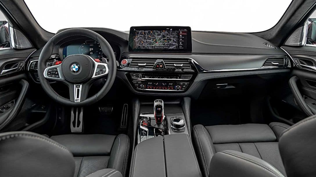 BMW M5 MY2021 interior