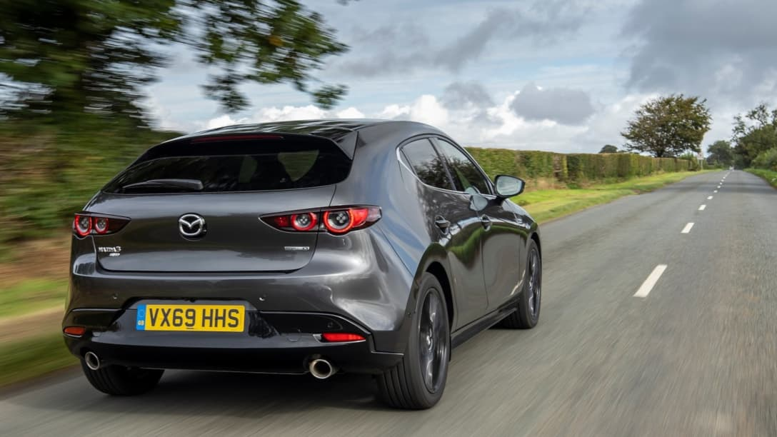 Mazda 3 UK version rear