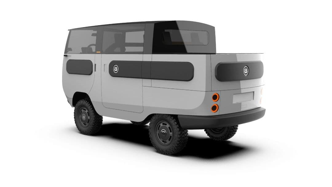 ElectricBrands eBussy pickup bus