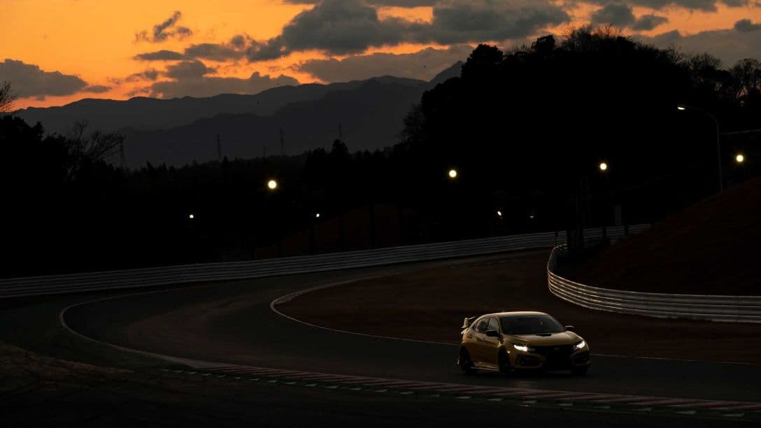 Honda Civic Type-R Limited Edition at Suzuka