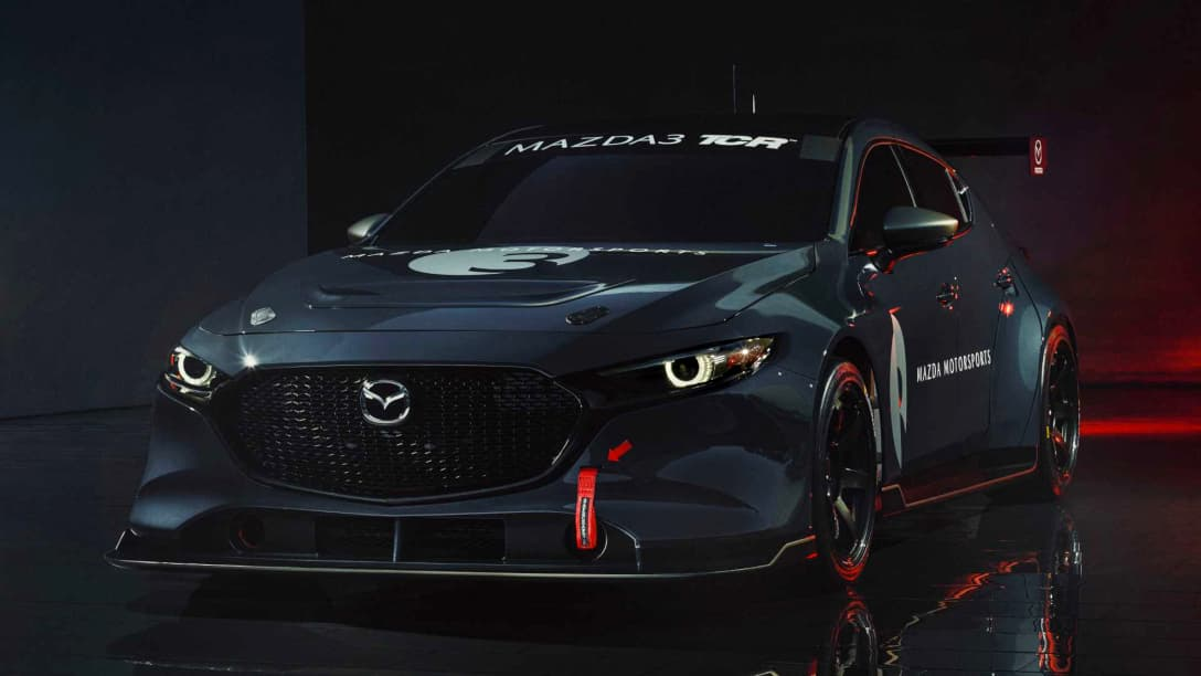 Mazda 3 TCR Race Car