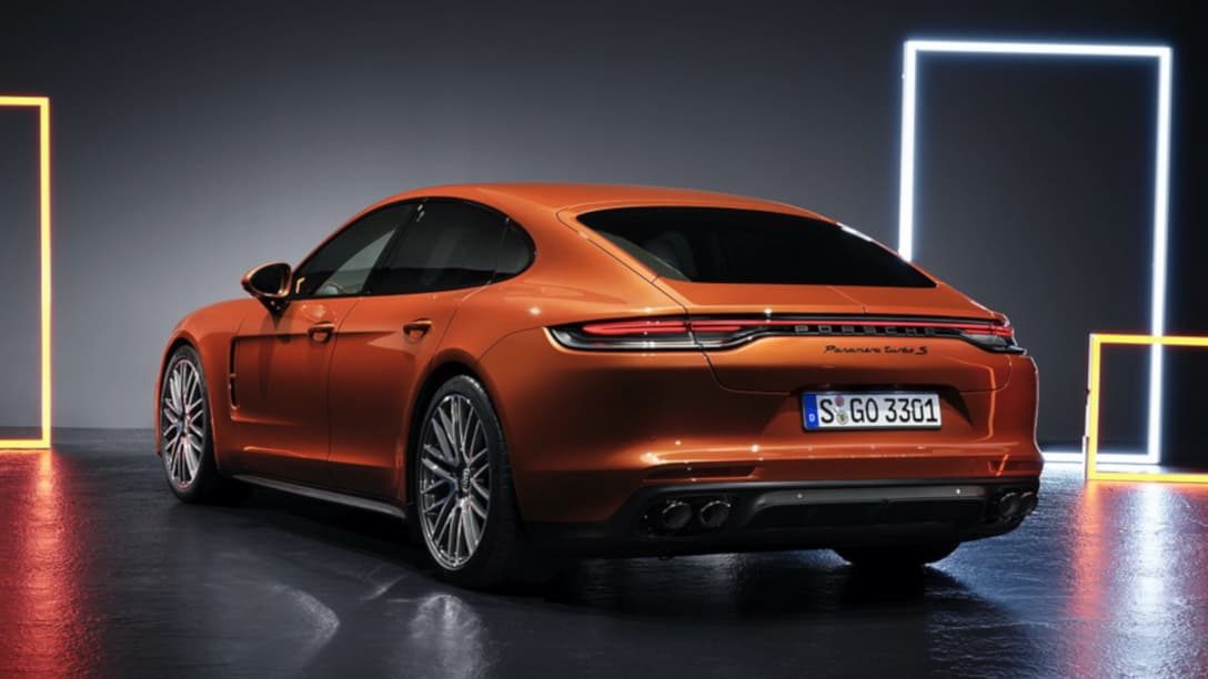 Porsche Panamera Facelift MY2021 rear