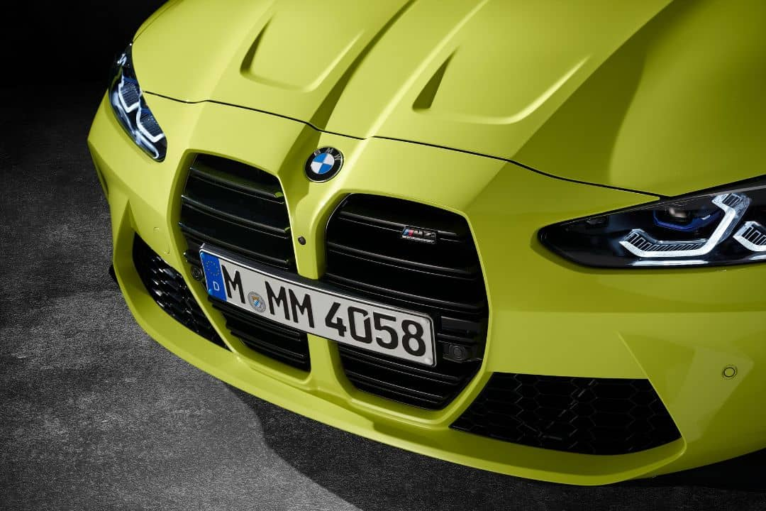 BMW M4 Coupe Grill