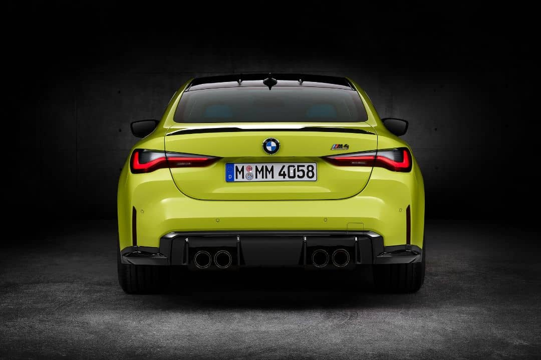 BMW M4 Coupe Rear