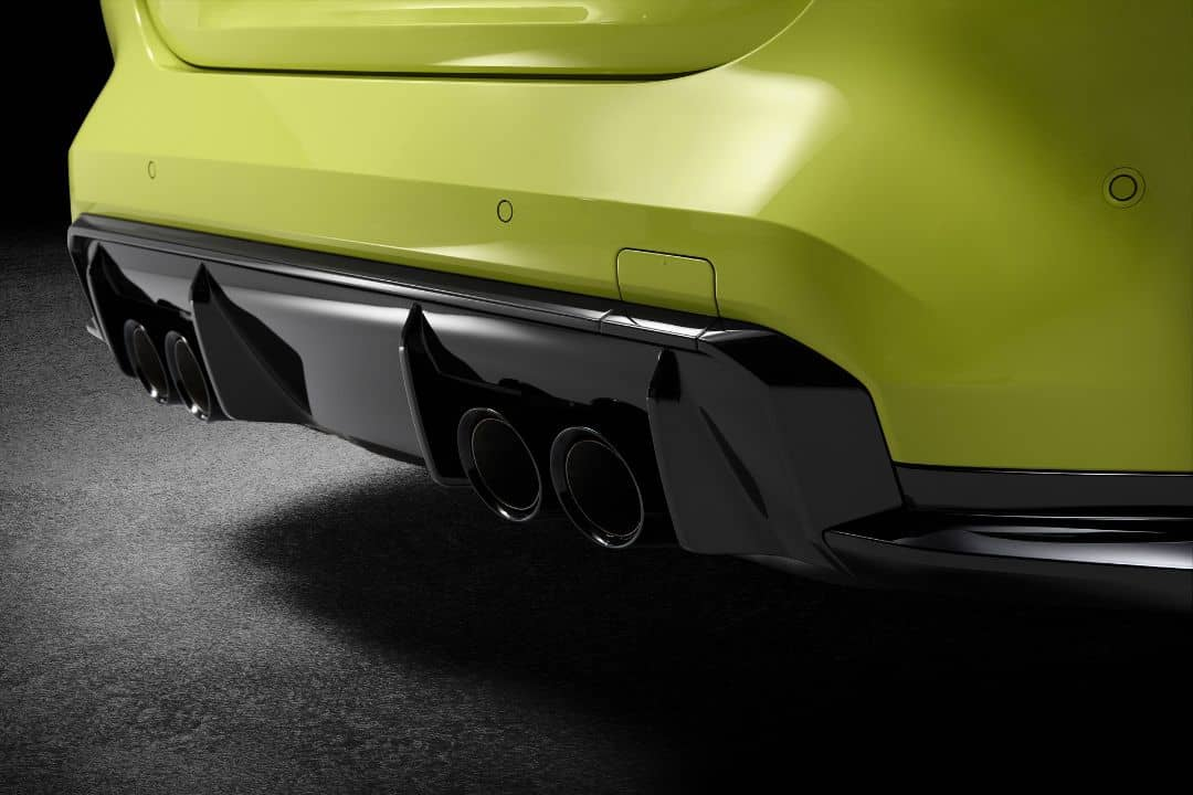 BMW M4 Coupe Muffler