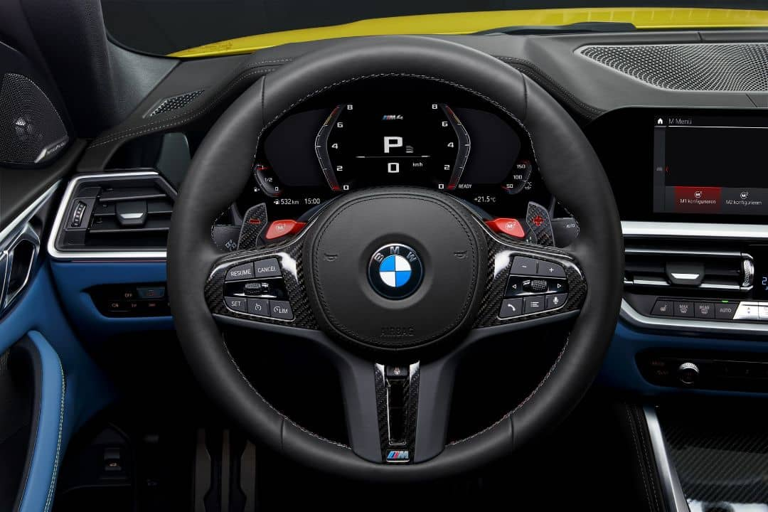 BMW M4 Coupe Cockpit