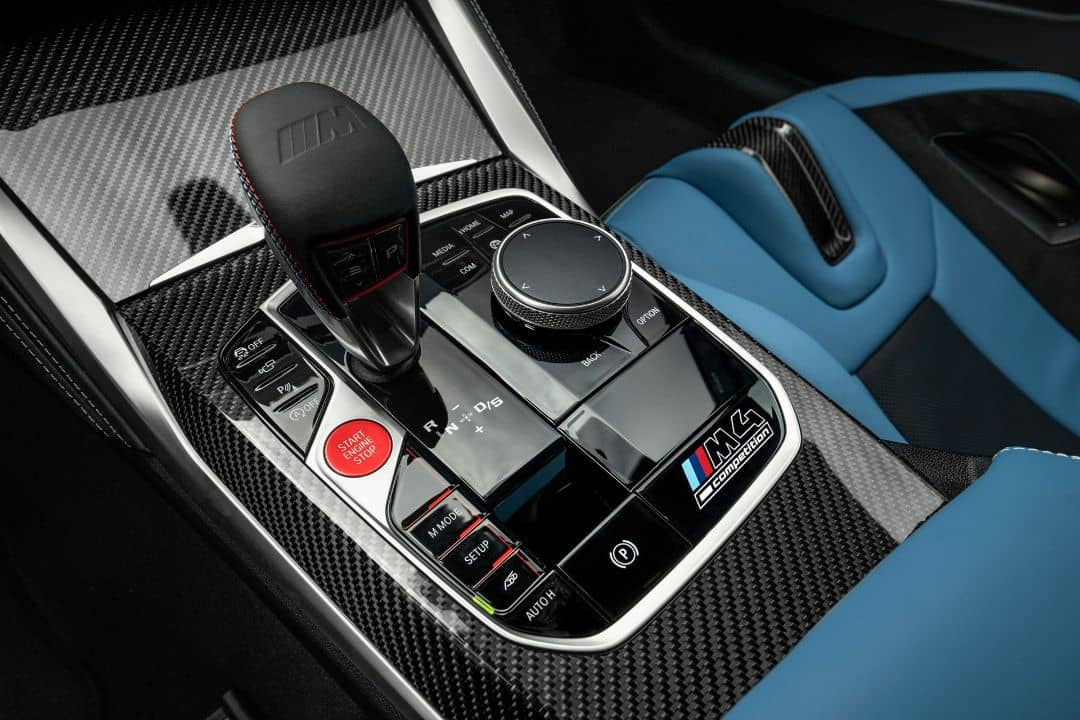 BMW M4 Coupe Console