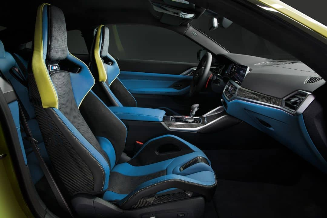 BMW M4 Coupe Front seat