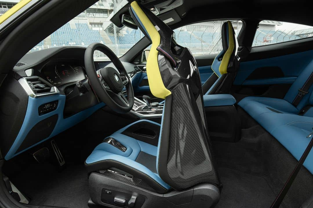 BMW M4 Coupe Rear seat