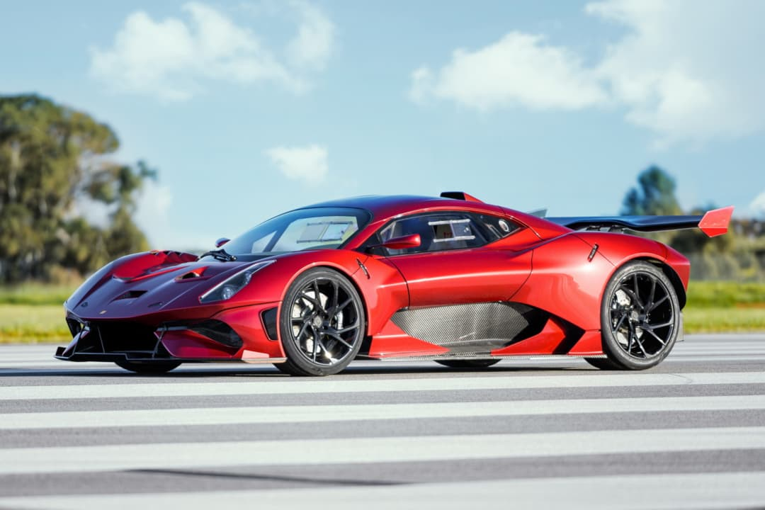 Brabham BT62R front three quarter