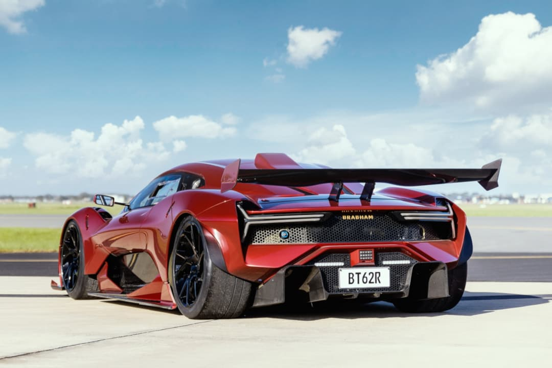 Brabham BT62R rear