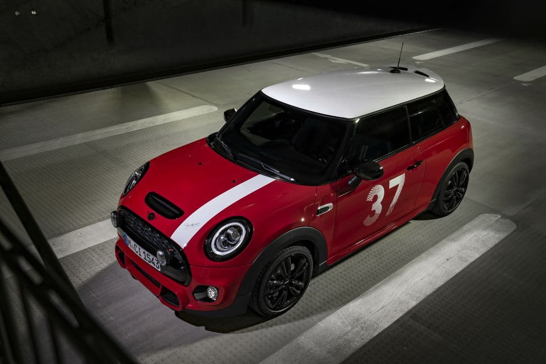 MINI Paddy Hopkirk Edition front top