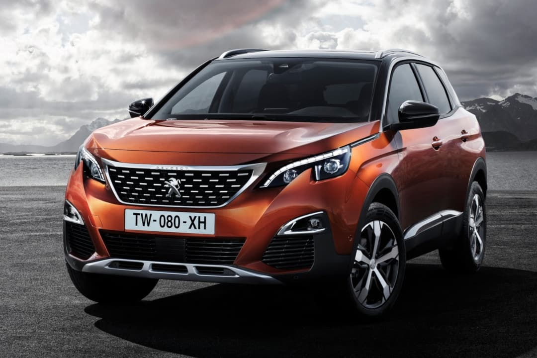 Peugeot 3008 MY2017 front