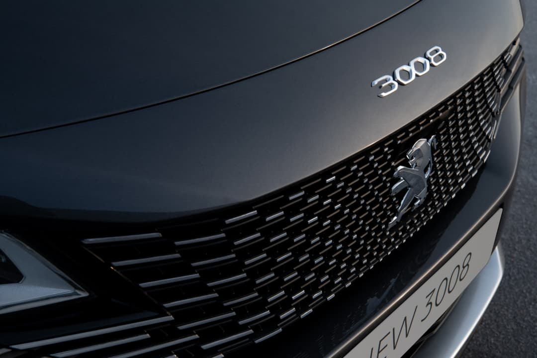 Peugeot 3008 MY2021 Facelift grill