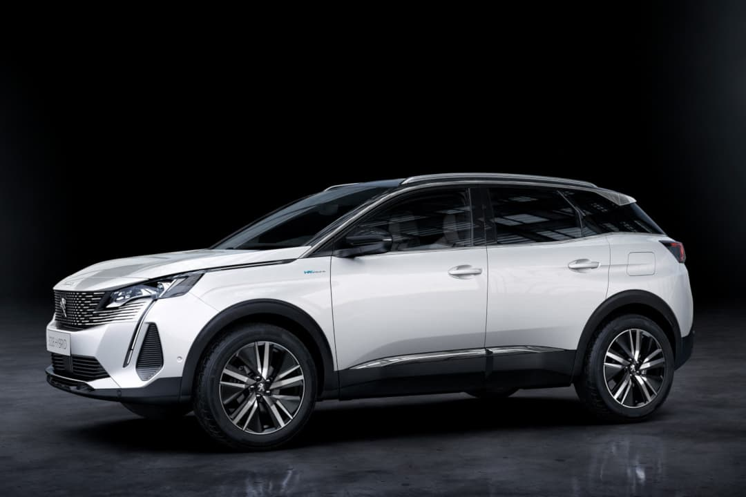 Peugeot 3008 MY2021 Facelift side