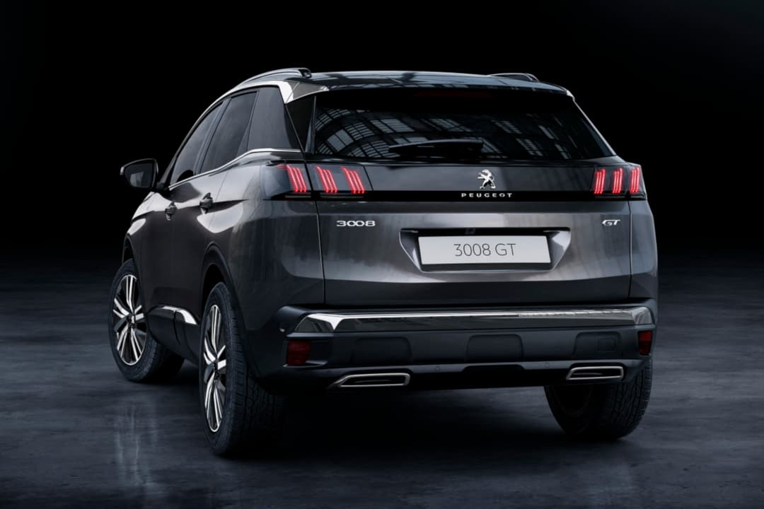 Peugeot 3008 MY2021 Facelift rear