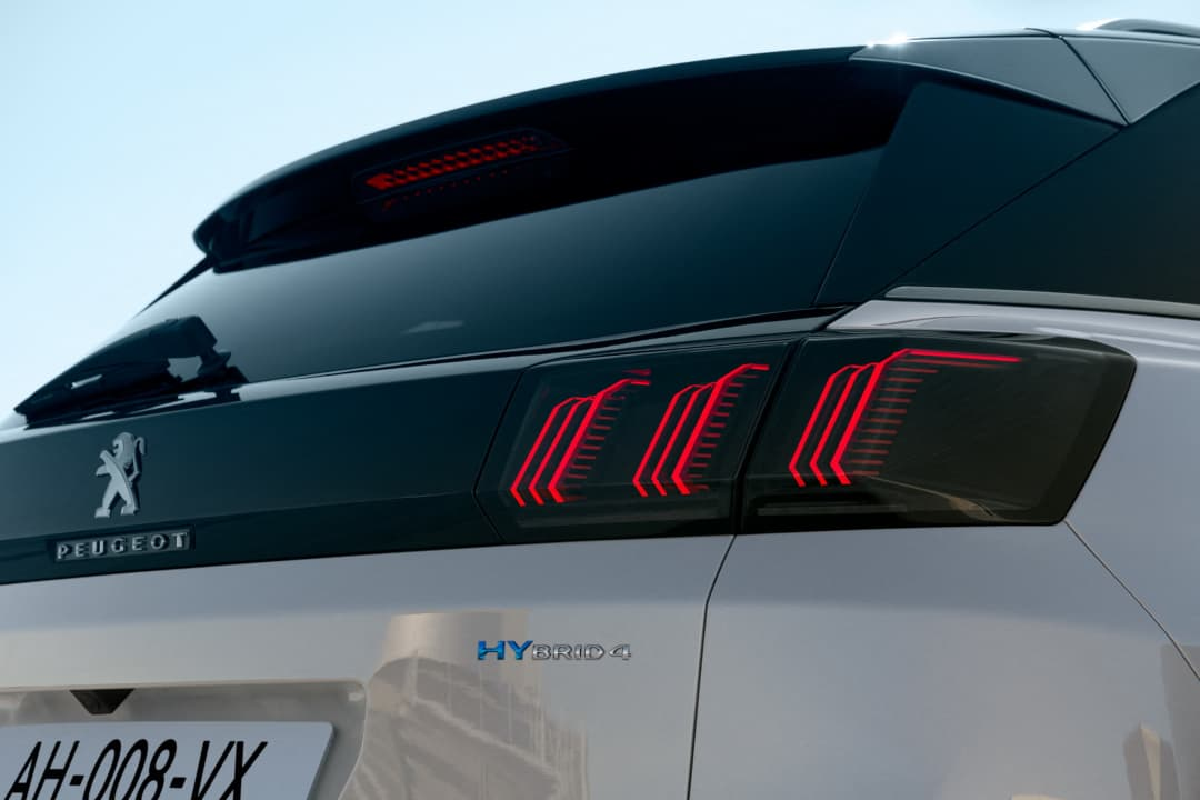 Peugeot 3008 MY2021 Facelift taillight