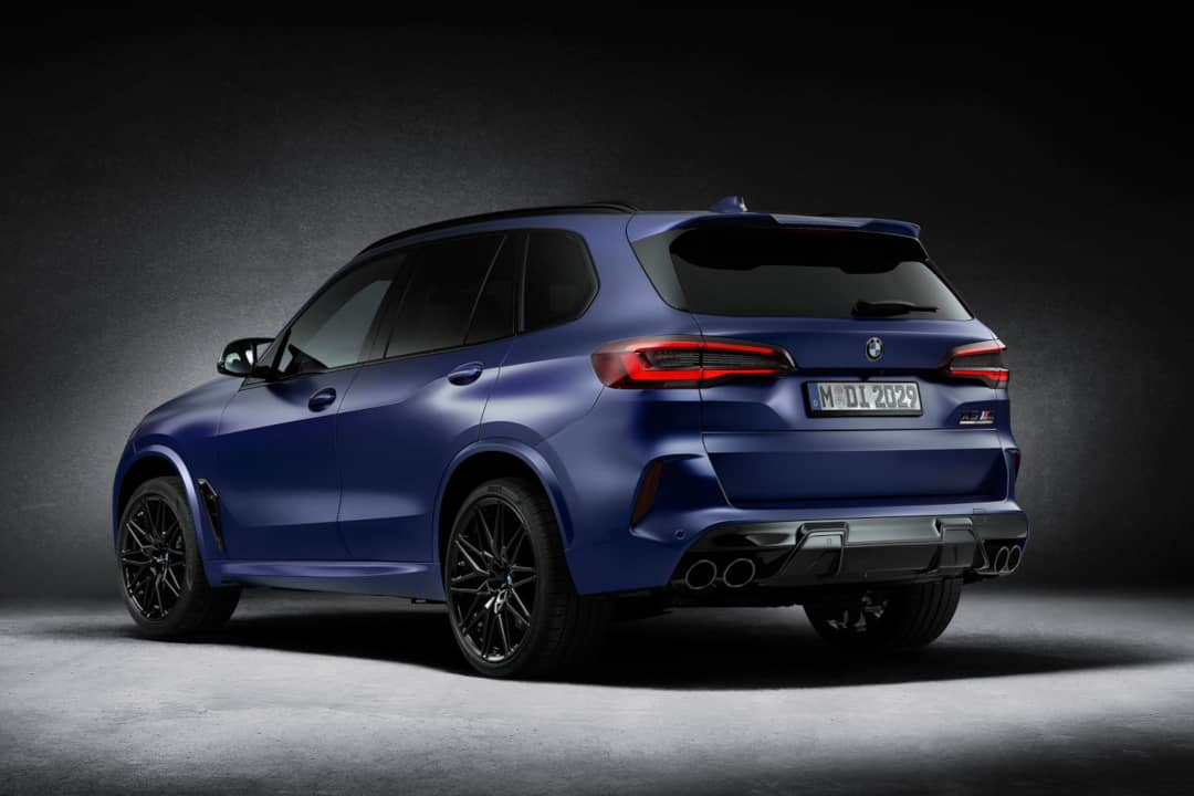 BMW X5 M Competition First Edition Rear