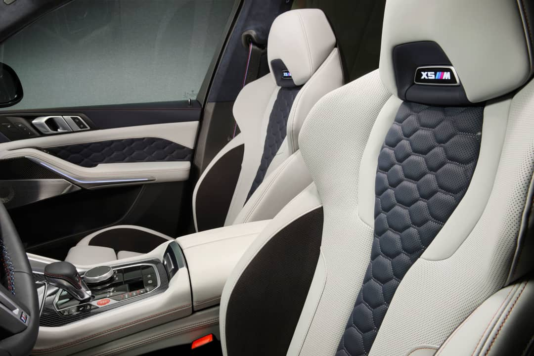 BMW X5 M Competition First Edition Seats