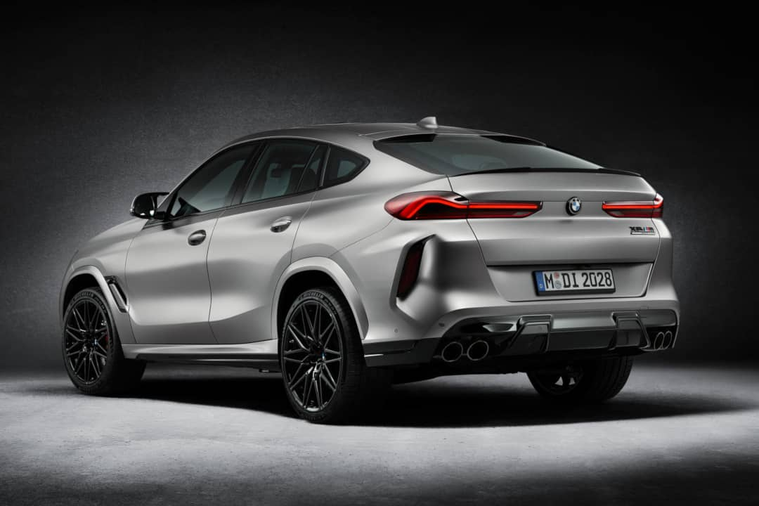 BMW X6 M Competition First Edition Rear