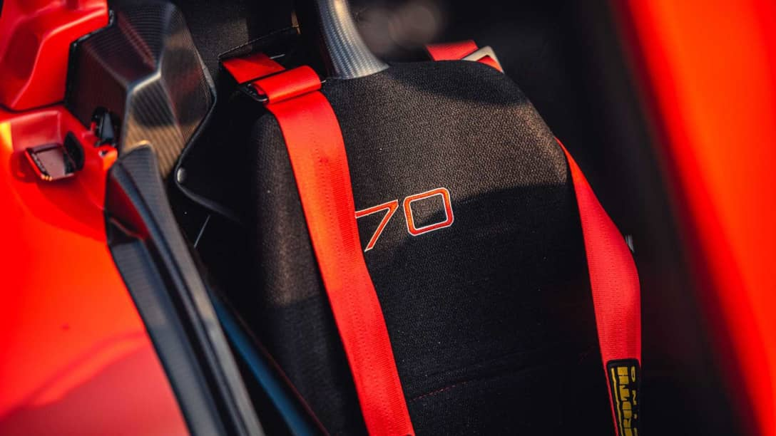 Donkervoort D8 GTO-JD70 R Seat