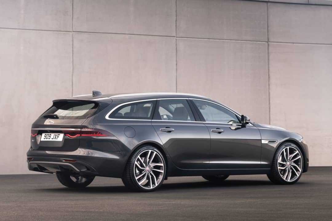 Jaguar XF Sportbrake MY2021 Facelift Rear