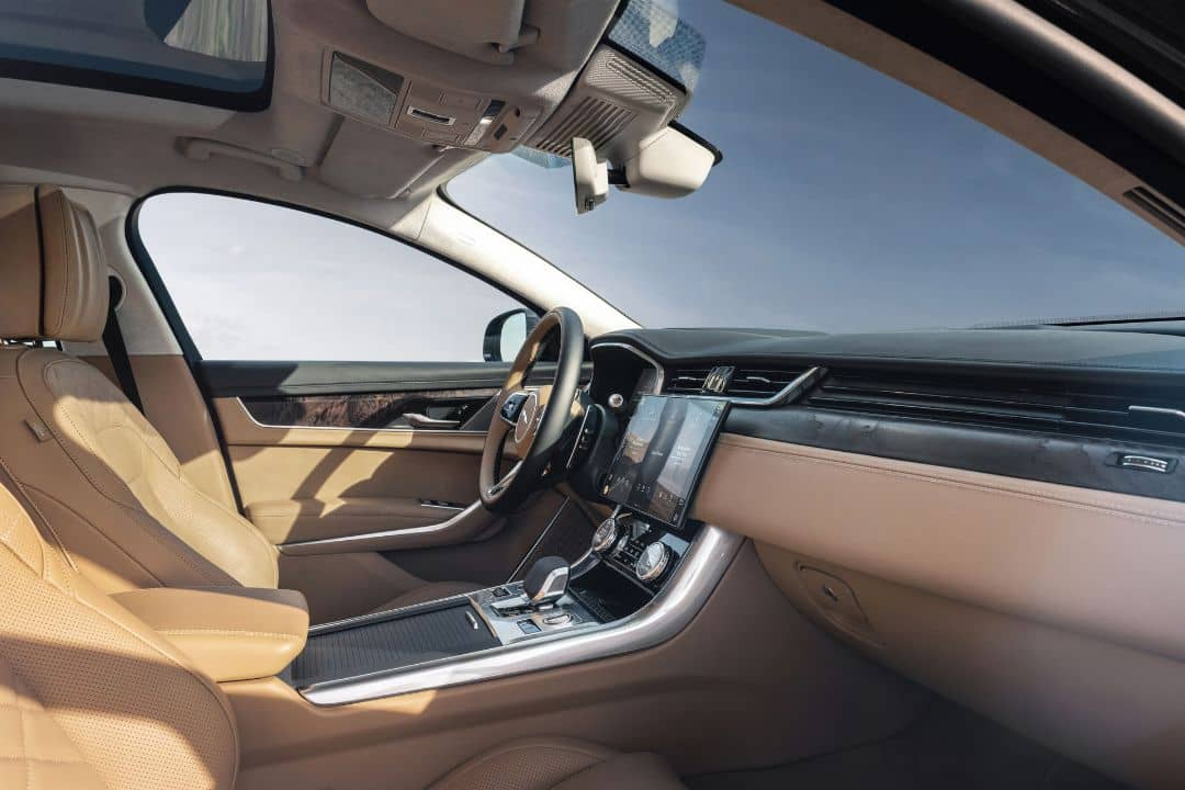 Jaguar XF MY2021 Facelift Interior