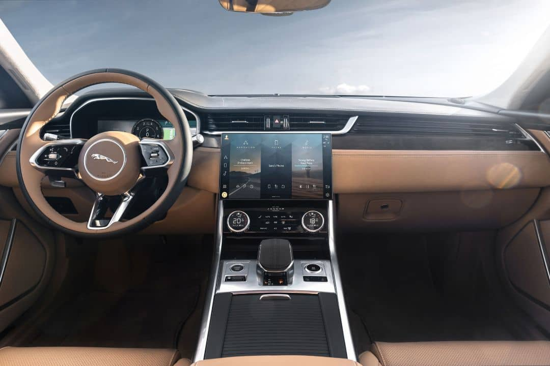 Jaguar XF MY2021 Facelift Touch Screen