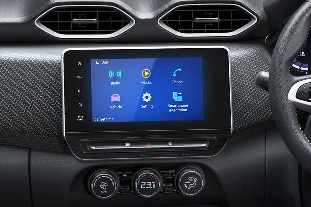 Nissan Magnite Touch screen