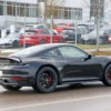 Porsche 911 Safari Test Car Spyshot Rear three quarter