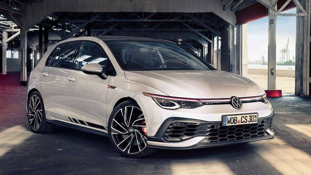 VW Golf8 GTI Clubsport Front