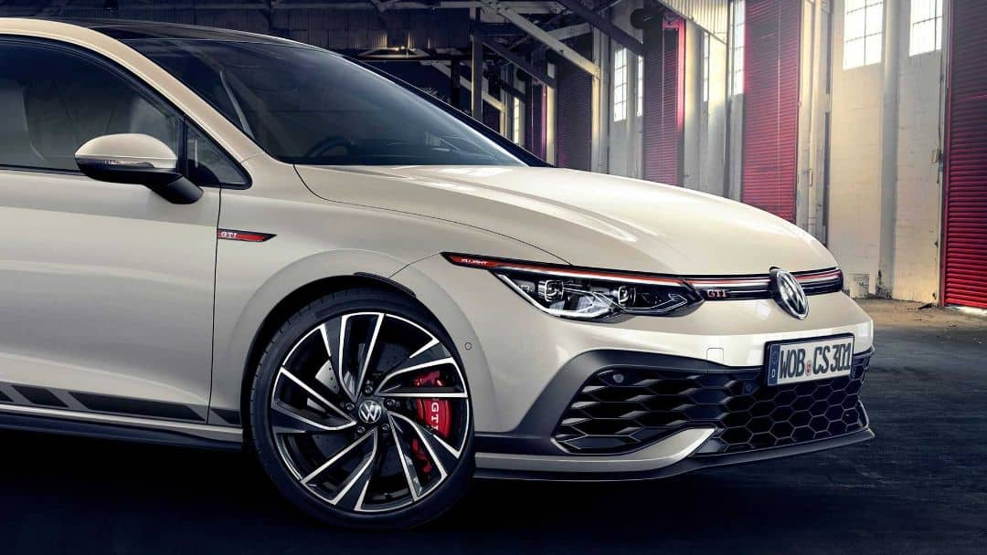 VW Golf8 GTI Clubsport Nose