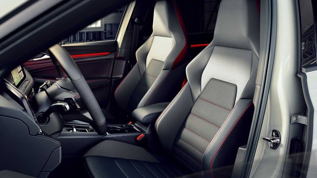 VW Golf8 GTI Clubsport Front seat