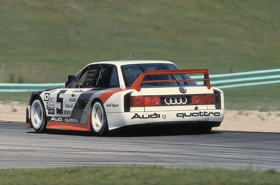 Audi 90 quattro GTO IMSA Race Car 1989 Rear