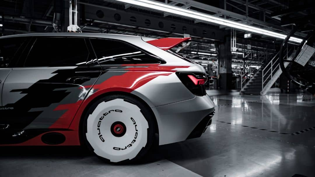 Audi RS6 GTO Concept Side