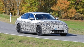 BMW i3 Sedan Spyshot