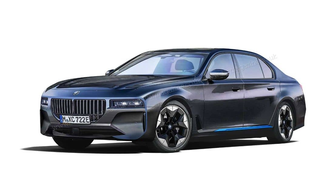 BMW i7 Rendered by Car magazine