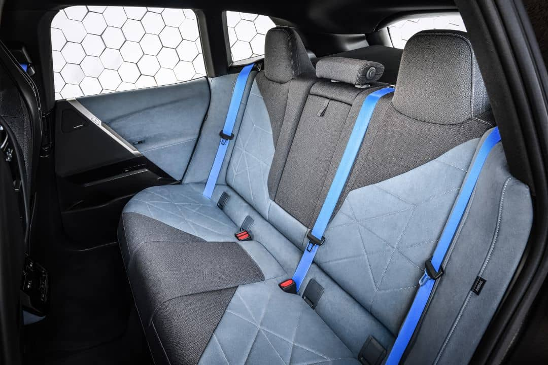 BMW iX Rear seats