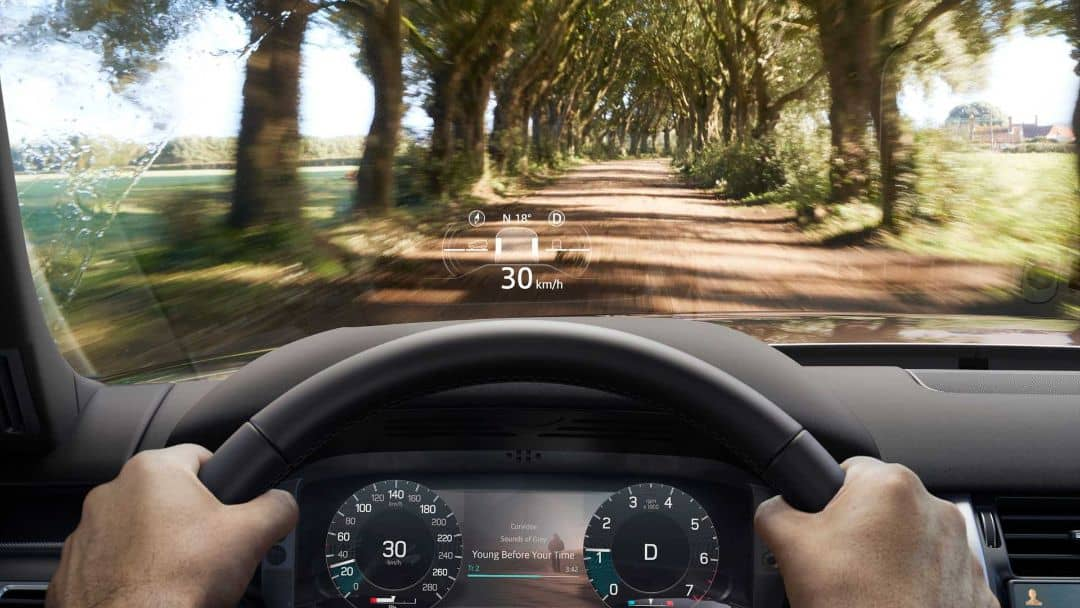 Land Rover Discovery 2021 HUD