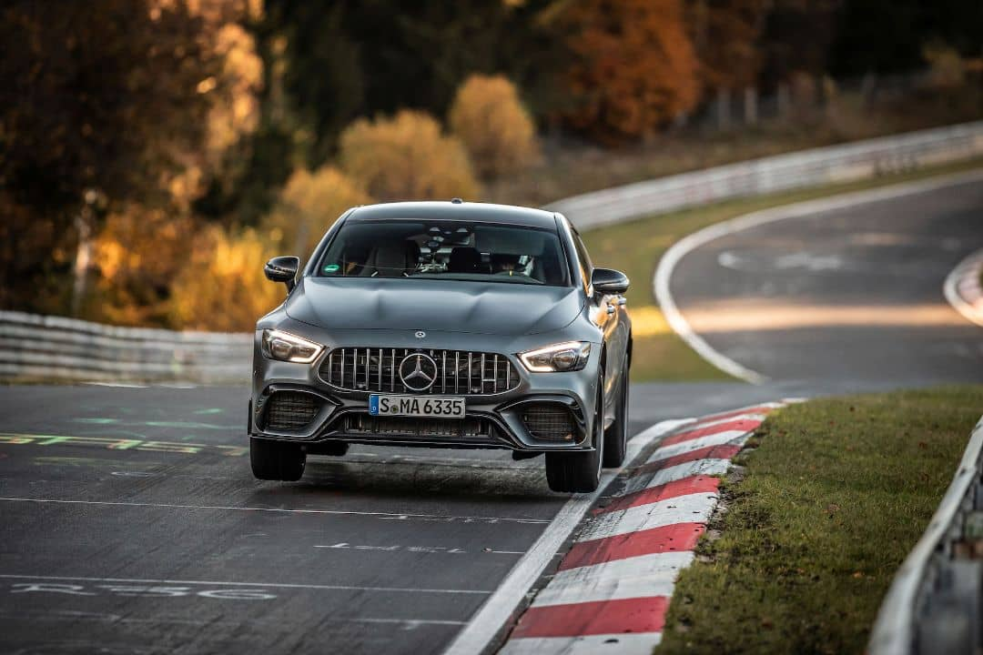 Mercedes-AMG GT 63 S 4Matic+ Nurburgring Record