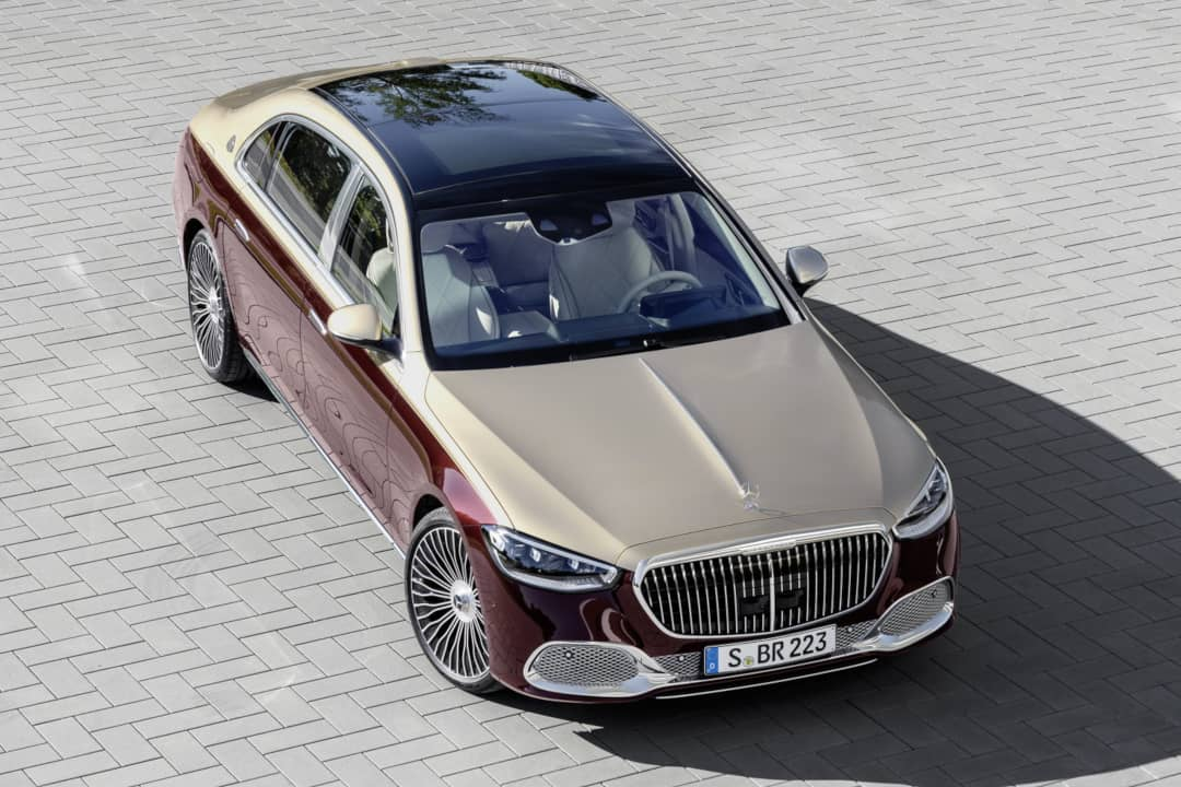 Mercedes Maybach S-Class Top front