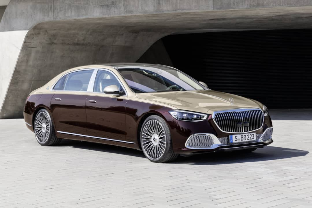 Mercedes Maybach S-Class Front three quarter