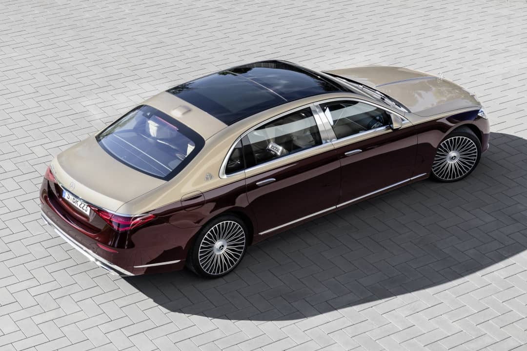 Mercedes Maybach S-Class Top rear