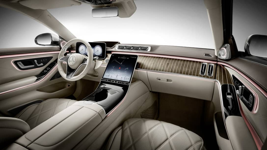 Mercedes Maybach S-Class Interior