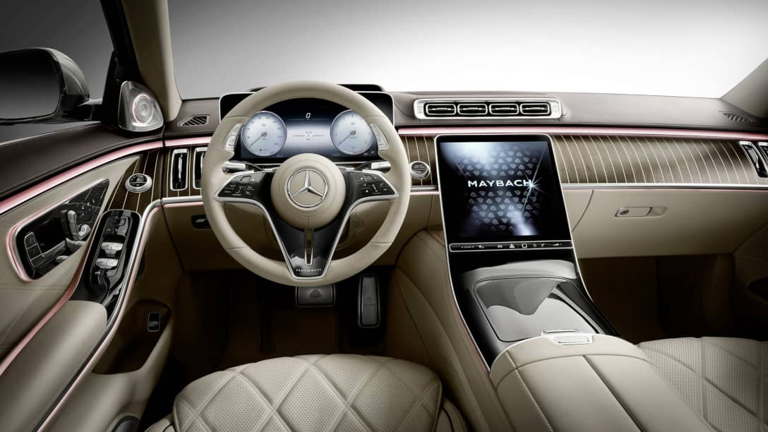 Mercedes Maybach S-Class Cockpit
