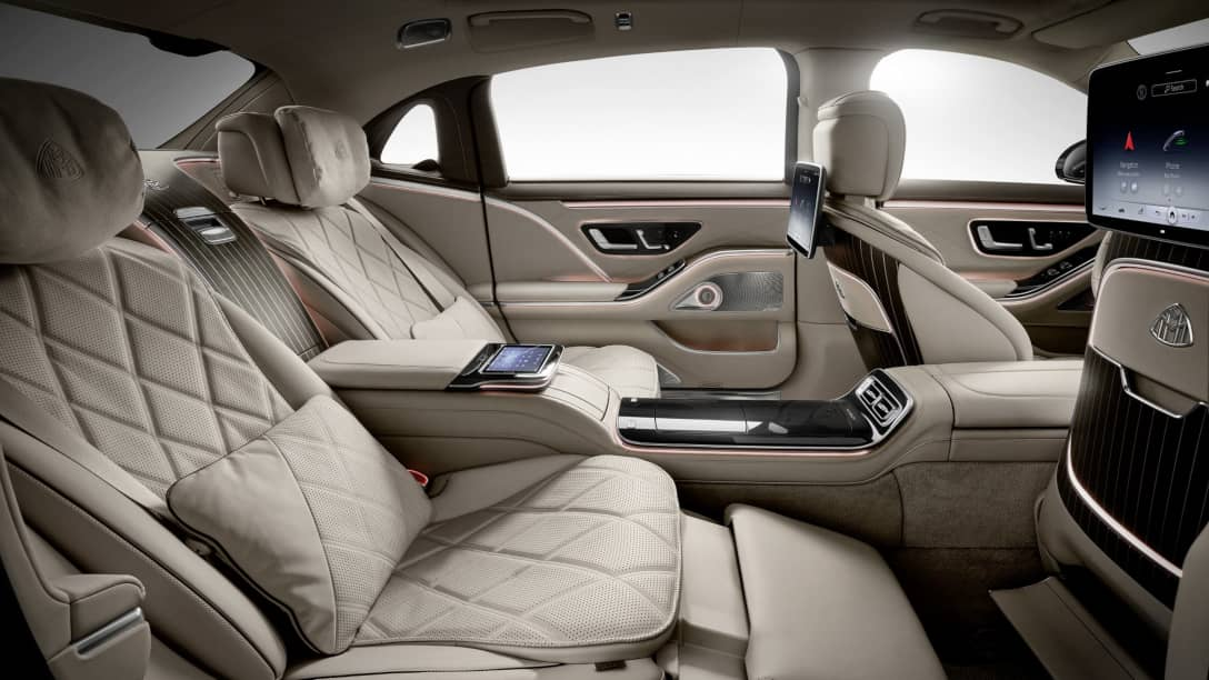 Mercedes Maybach S-Class Rear seats