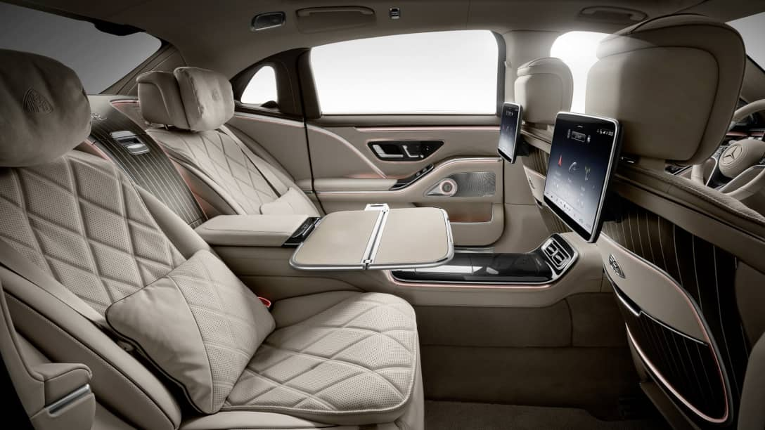 Mercedes Maybach S-Class Rear seat table