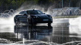 Porsche Taycan Drift World Record